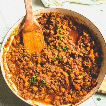 Clean Eating Bolognese Sauce