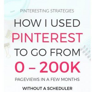 pinterest strategies to grow traffic to blog