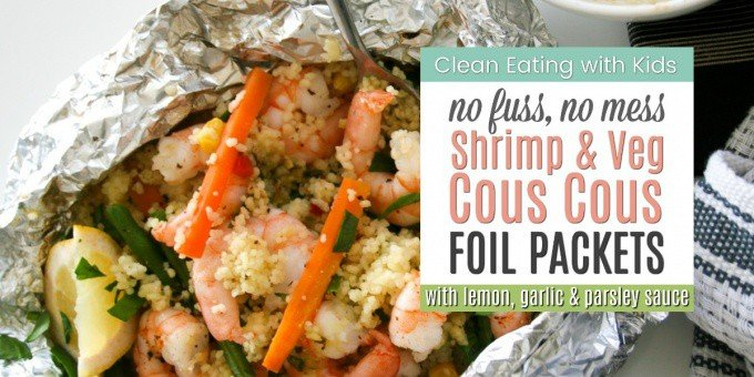 I'm obsessed! I made these shrimp and cous cous foil packets on the grill this week and now I can't stop. Foil Packets are officially my favorite way to cook everything! They are super easy, require zero cleanup and well - they just rock!