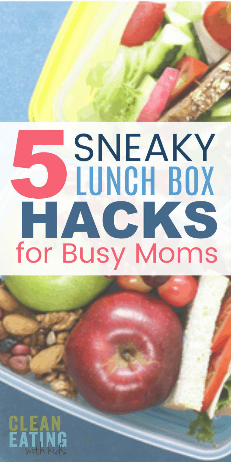 When it comes to making school lunches, for the sake of our long term sanity, here are 5 Hacks to make this mind numbing job a little easier.