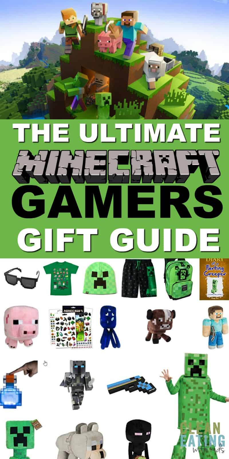 Here it is! The Ultimate Minecraft Gamers Gift Guide