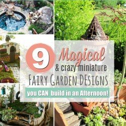 9 Magical Fairy Garden Designs You Can Create this Weekend