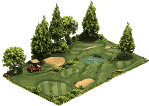 fairy garden golf course