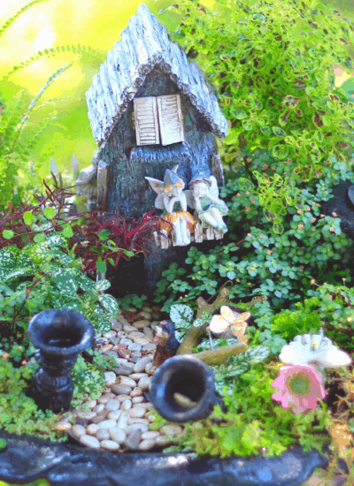fairy gardens to make at home