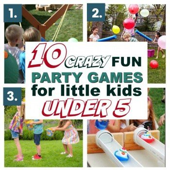10 Fun & Super Entertaining Party Games for Little Kids Under 5