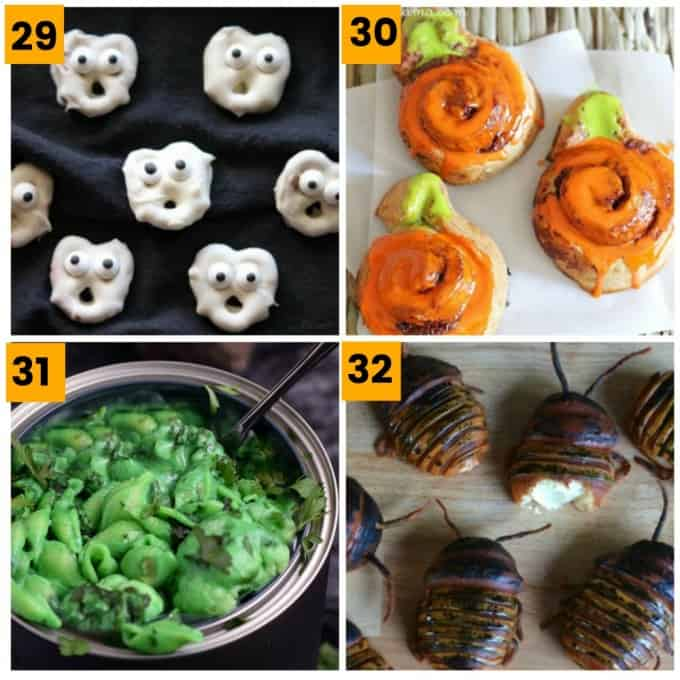 40 Gross But Healthyish Halloween Food Ideas