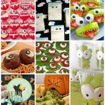 40 Gross (But Healthy'ish) Halloween Food Ideas