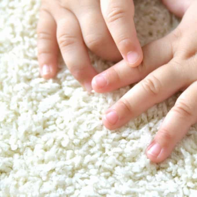 safe and natural two ingredient carpet freshener