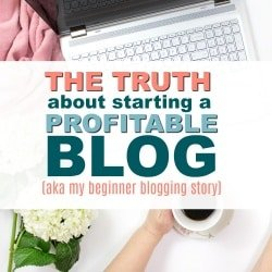A Real Blog Backstory (PLUS How I Got my Blog Finally Earning $1000 a month)