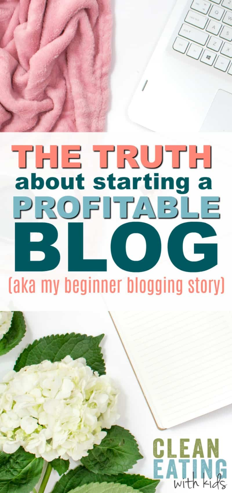 the truth about blogging and how to make your first $1000 a month.