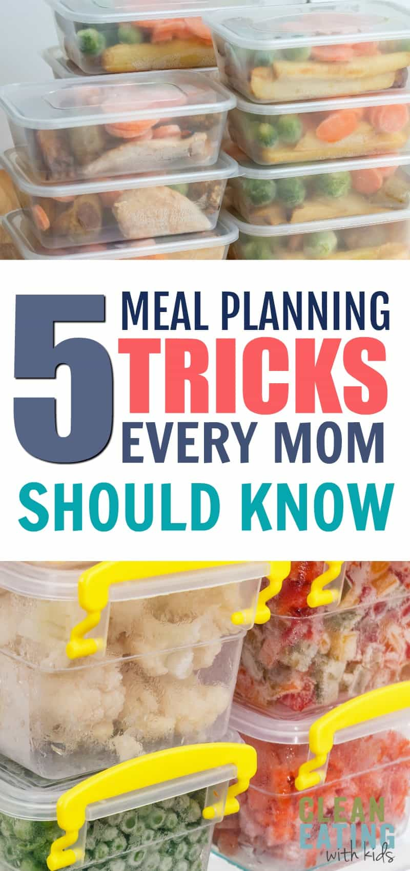 New to Meal Planning? Here are 5 Meal Planning tips that every Mom should know.