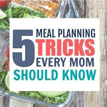 New to Meal Planning? Here are 5 Meal Planning tips that every Mom should know. #cleaneatingmealplan #mealplanningtips #mealplanningtricks #mealplan