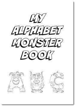 eating the alphabet coloring pages - photo#29