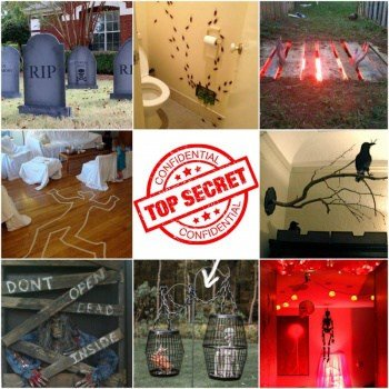 10 MORE Cheap & Nasty Halloween Decorations (and my TOP SECRET Scare Tactic)