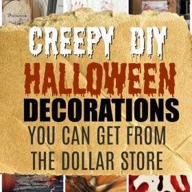 You Won't Believe these are Dollar Store DIY Halloween Decorations!