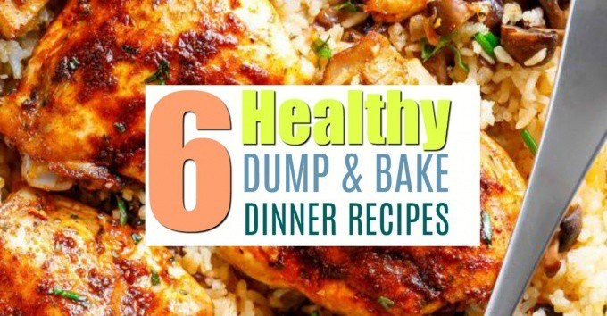 I know what I'm make for dinner all week! Lovin' these dump and bake recipes.