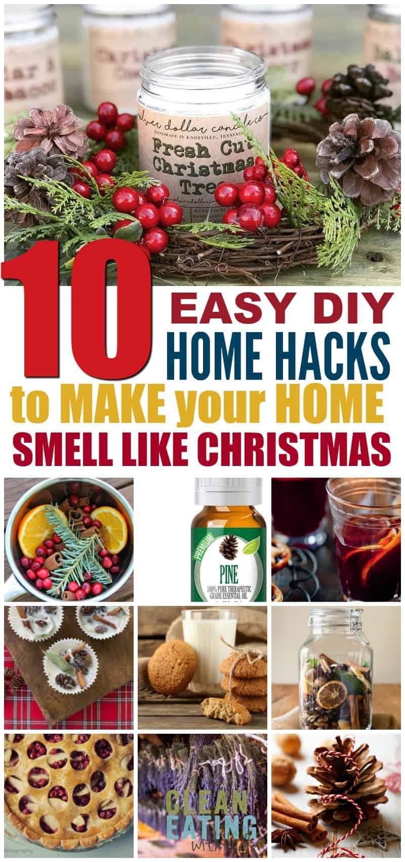 DIY Christmas Scent - How to Make your home smell like Christmas