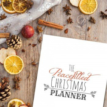 Worried about Christmas this year? Get the Free Printable Christmas Planner - Everything you need for a Peace Filled Christmas
