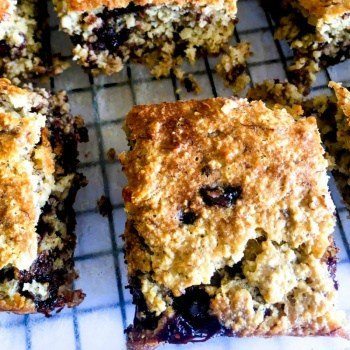 clean eating Gluten Free Choc Chip Banana Blondies