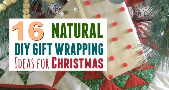 16 Cheap Nature Inspired Christmas Gift Wrapping ideas