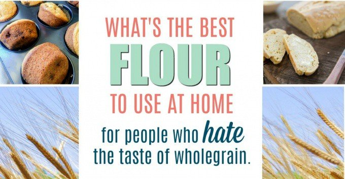 Do your kids hate the taste of wholegrain flour in your baking? Einkorn flour is going to change your world!