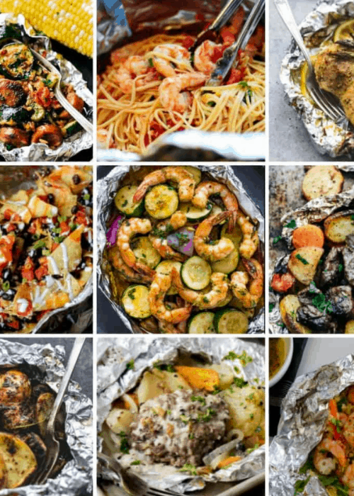 healthy foil packet meals