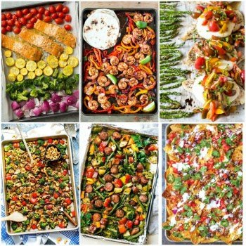 The 10 Best Sheet pan recipes if you have kids. Nothing is easier than throwing some ingredients into a sheet pan and poppin' in the oven.