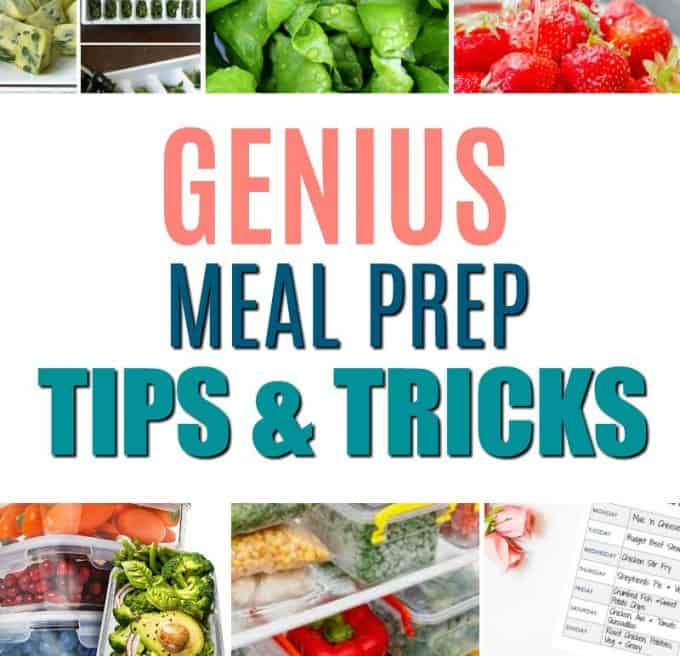 22 Genius Meal Prep Hacks