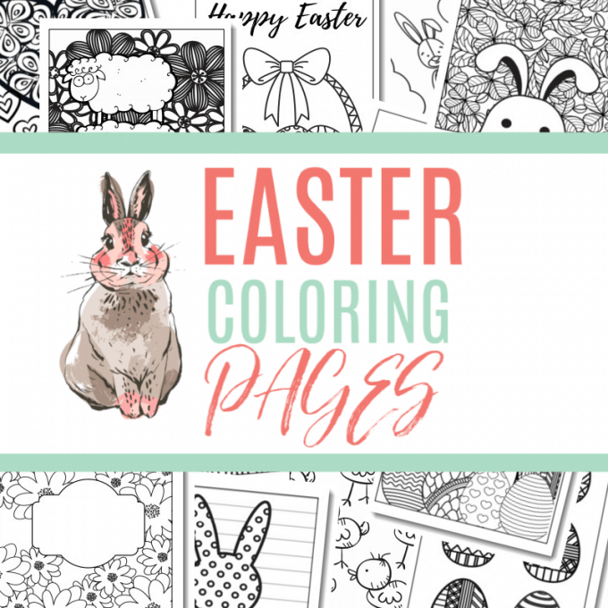 My First Easter Coloring Book: Easter Toddler Coloring Pages ... | 680x680