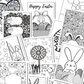 Free Printable - Easter Coloring PAges