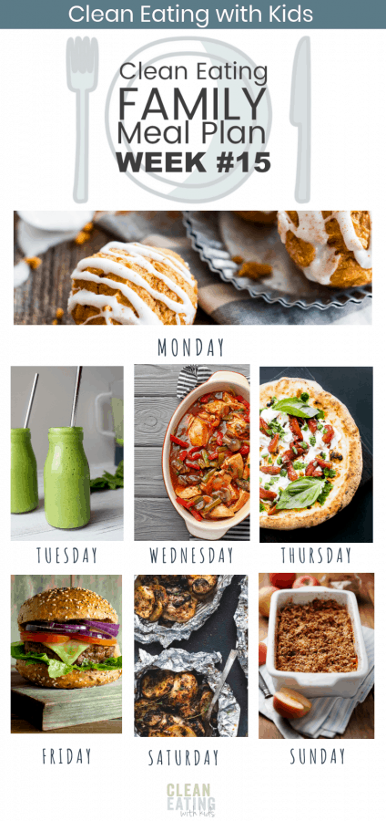 Clean Eating Family Meal Plan #15