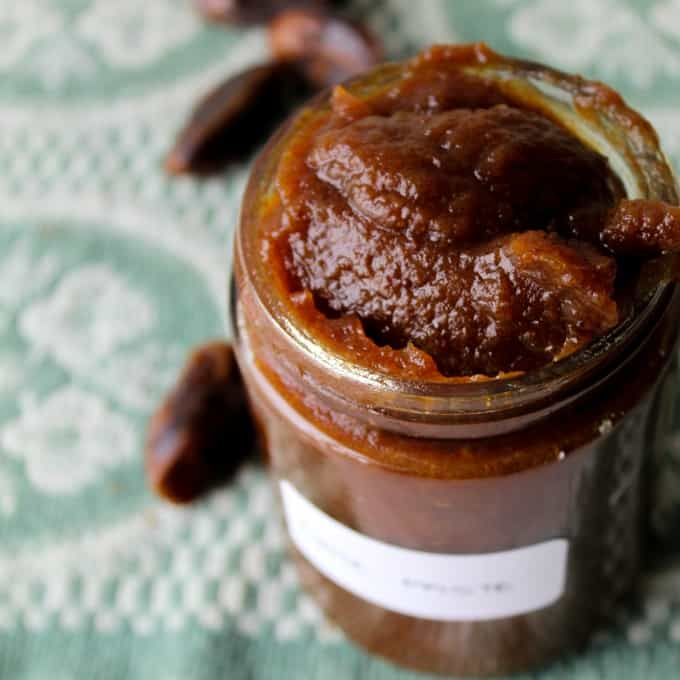 clean eating homemade date paste