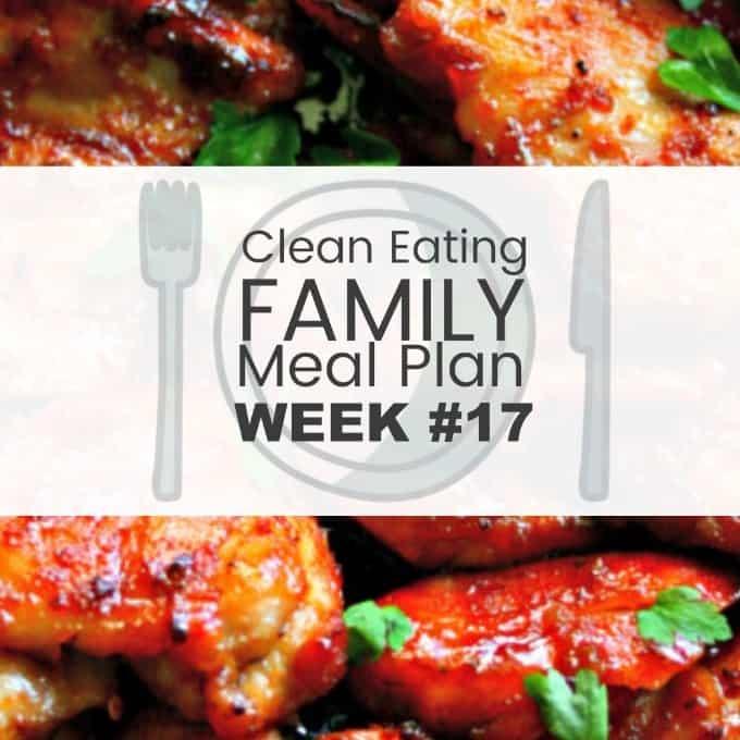 Clean Eating Meal Plan #017