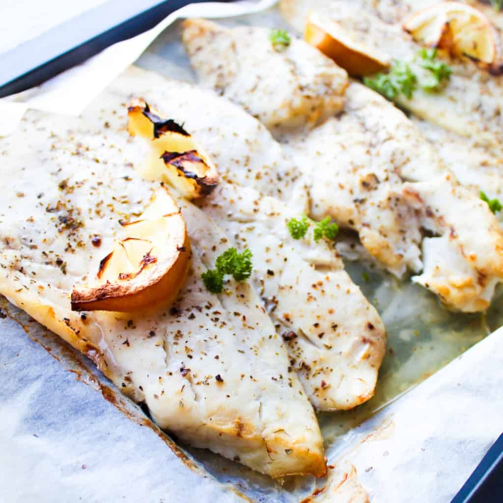 HOW TO MAKE LEMON BUTTER BAKED FISH