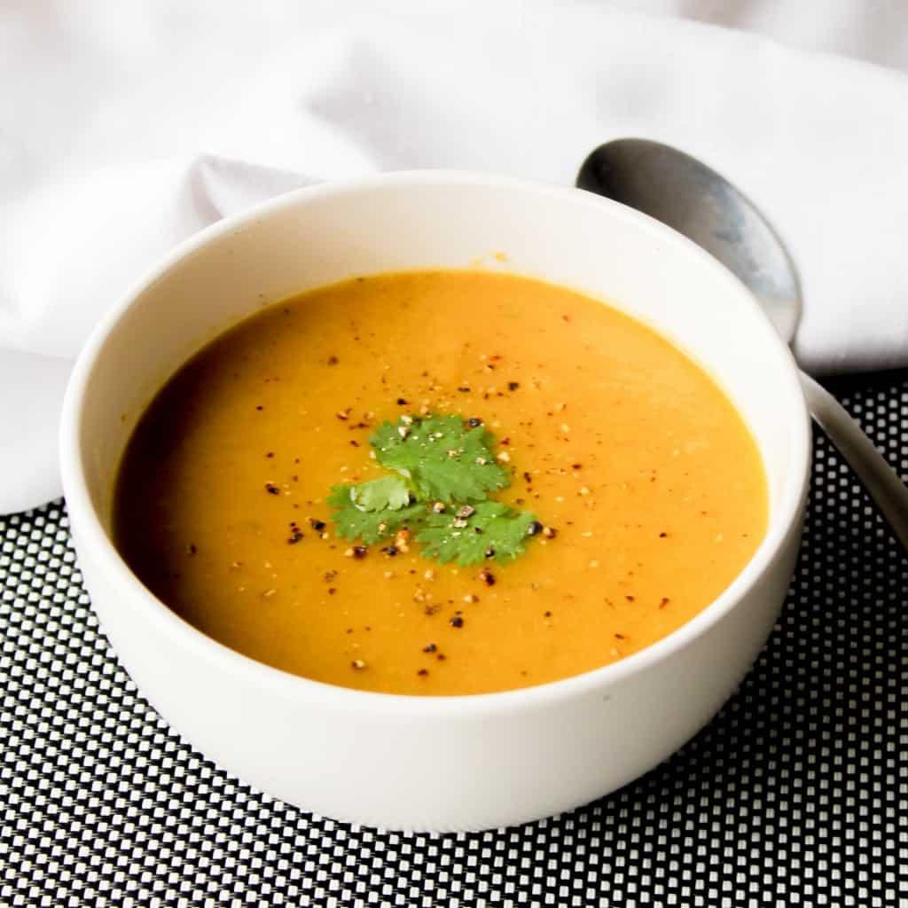 clean eating golden vegetable soup