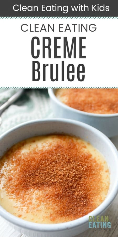Clean Eating Creme Brulee