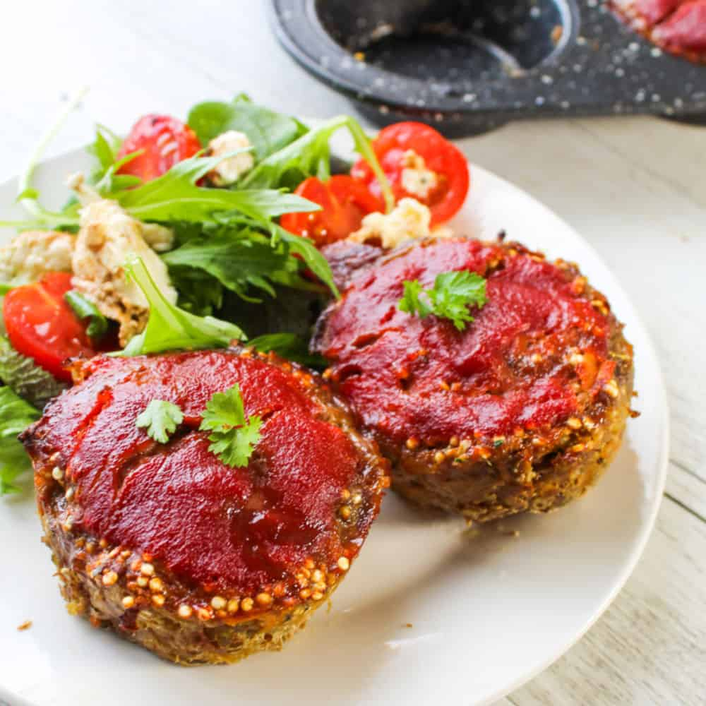 clean eating mini lunchbox meatloaf