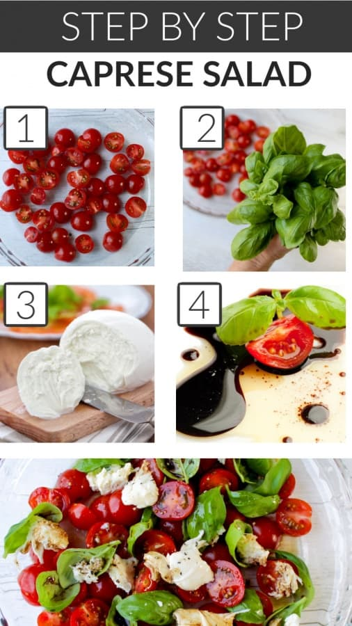 how to make a caprese salad