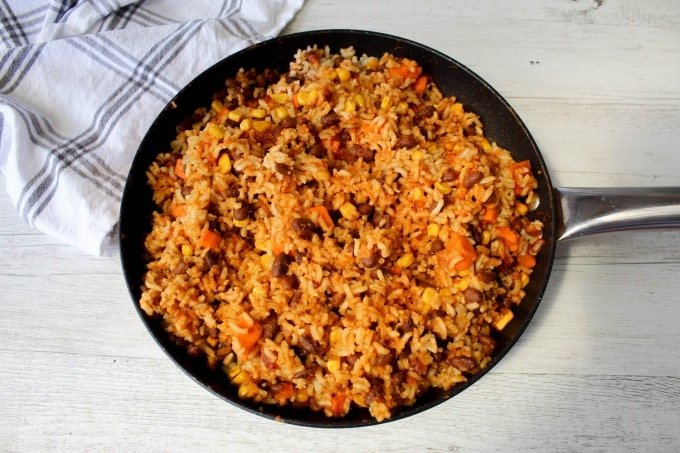 Clean Eating Mexican Fried Rice