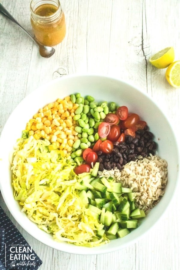 Clean Eating Chopped Mexican Salad-5