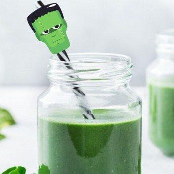 clean eating green smoothiehalloween