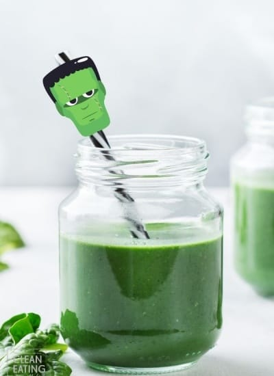 clean eating green smoothiehalloween
