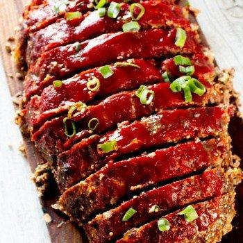 Clean Eating Meatloaf - sauce