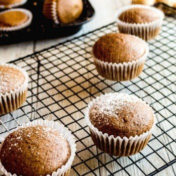 Clean Eating gingerbread muffins - YUM!