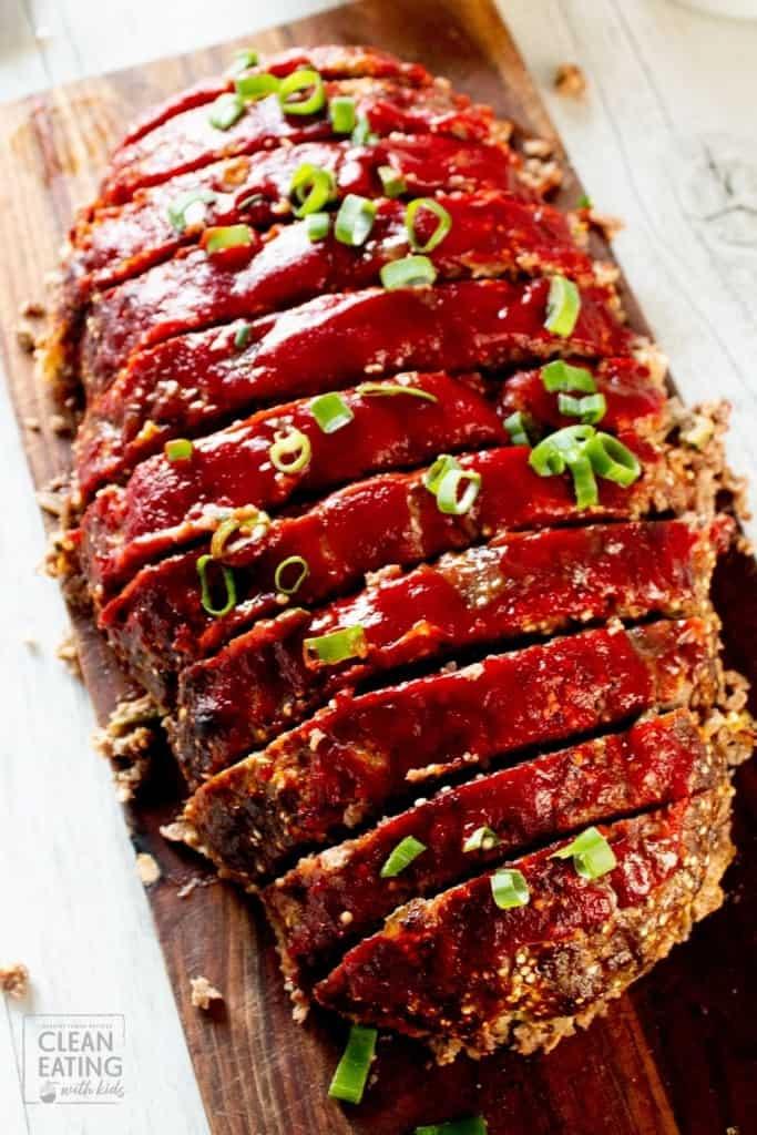 clean eating meatloaf