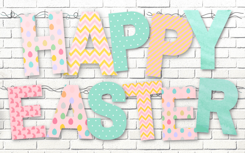 free printable easter signs