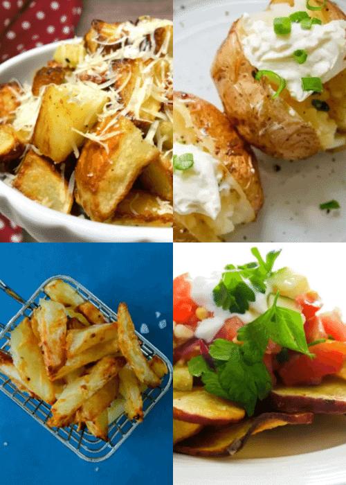 clean-eating-burger-potato-sides