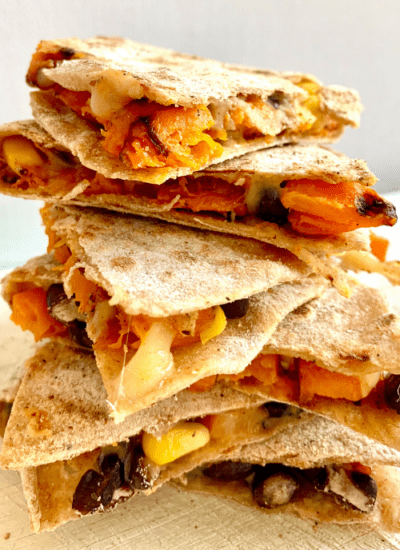 easy vegetarian quesadilla recipe