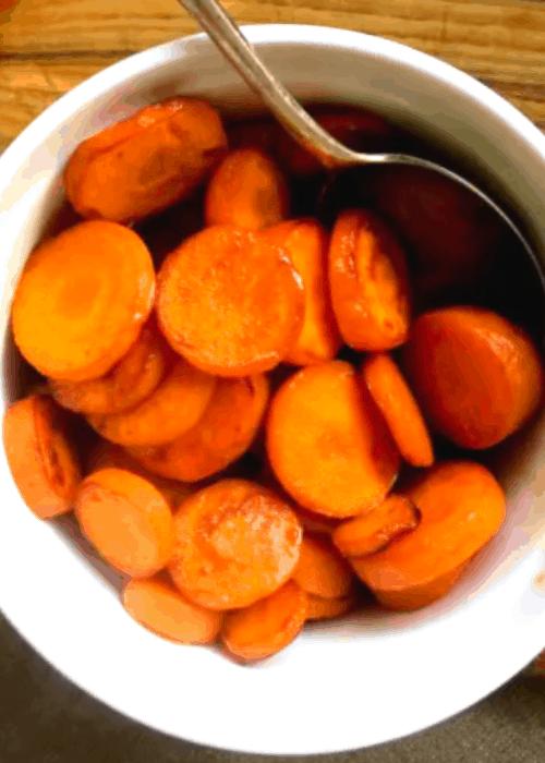 honey-glazed-sliced-carrots