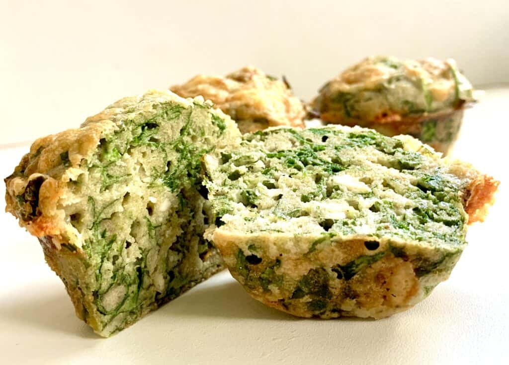healthy-cheese-spinach-muffins